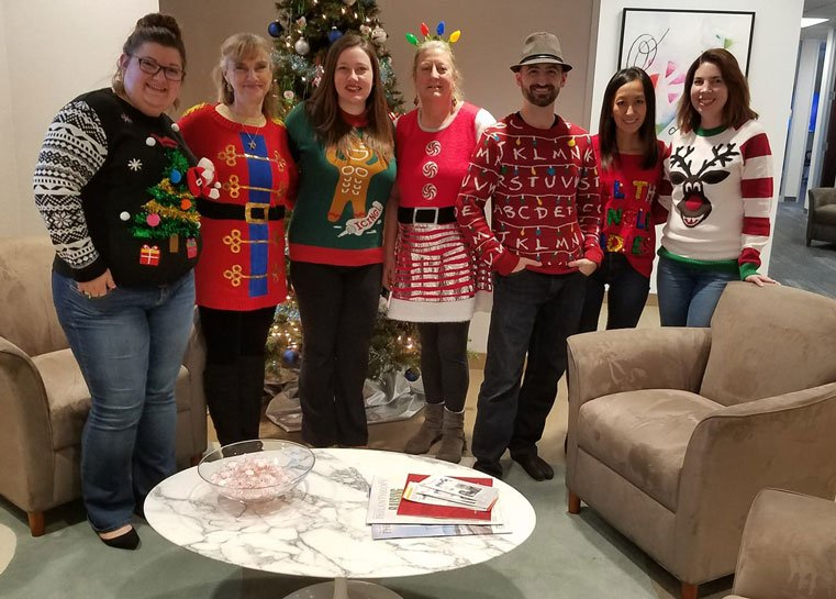 Team christmassweaters